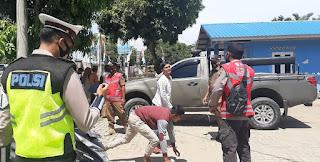 Tak Pakai Masker, Lima Oknum PNS Terjaring Tim Peucrok Covid-19 Aceh Timur