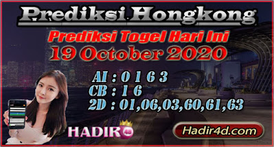 PREDIKSI TOGEL HONGKONG 19 OCTOBER 2020