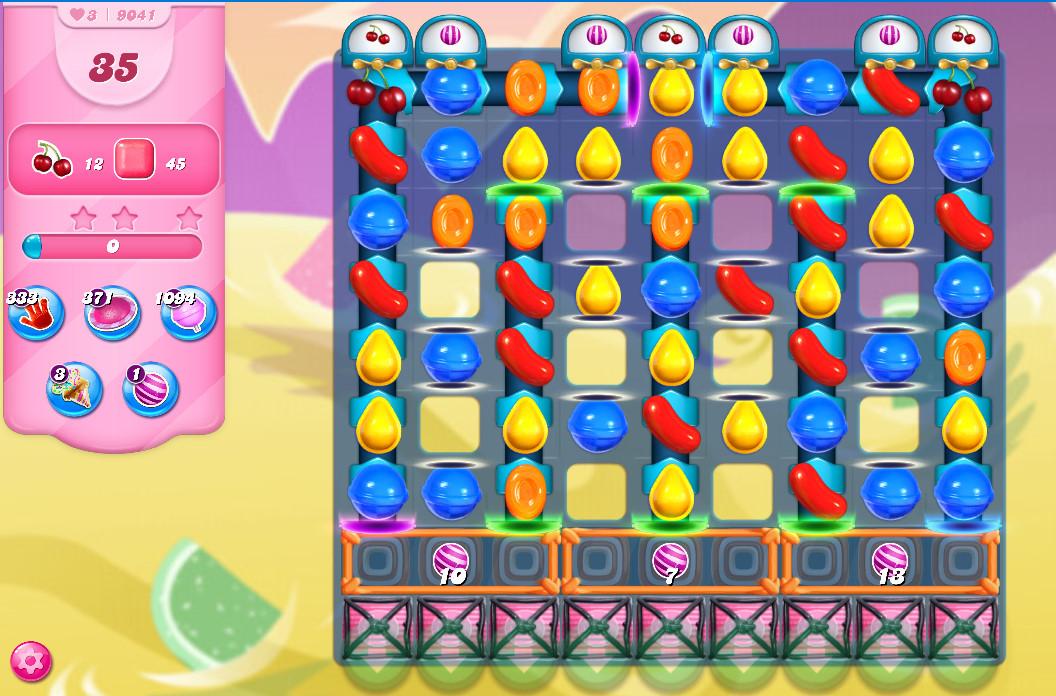 Candy Crush Saga level 9041
