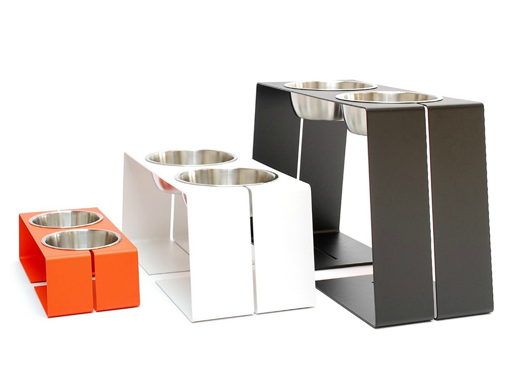 7 Modern Dog Bowl Stands (Shop Stylish Raised Feeders)