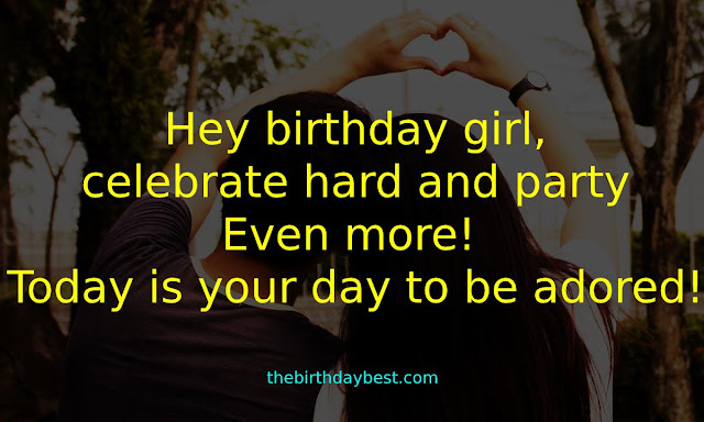 Other Birthday Wishes for My Girlfriend