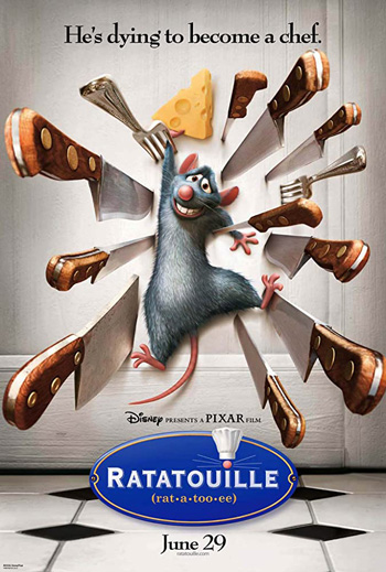 Ratatouille 2007 Dual Audio ORG Hindi 720p BluRay 600MB ESubs poster