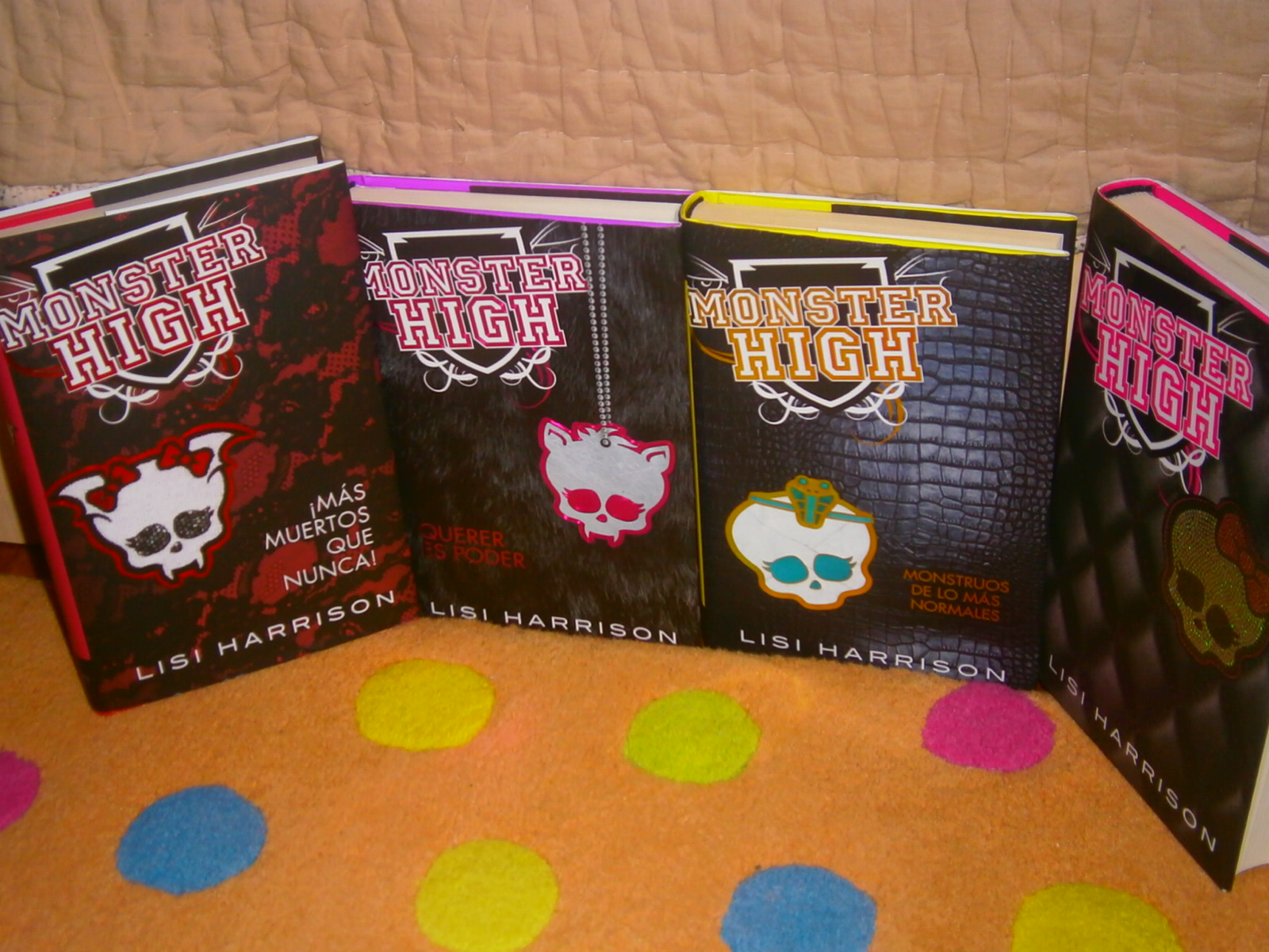 Monster High Libros Libros De Chocolate Monster High