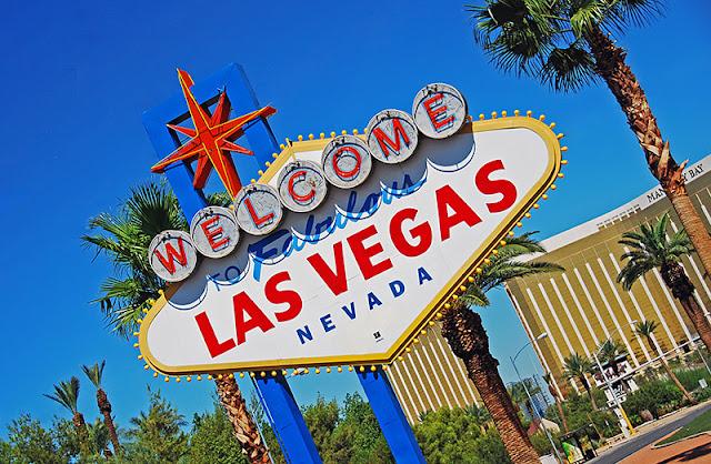 História da placa Welcome to Fabulous Las Vegas