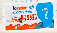 Nova Carinha do Kinder Chocolate