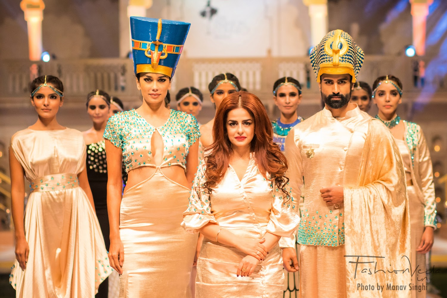 Collection by Bani Pasricha at Fashion Connect Show, Jaipur.