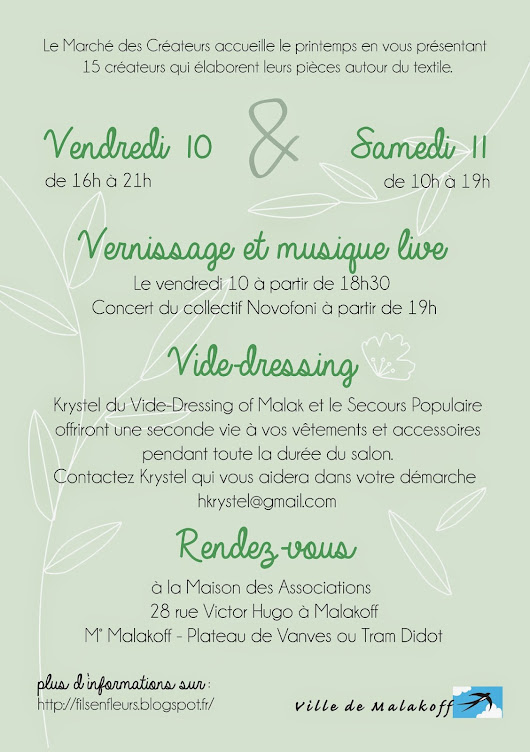 La programmation du salon !