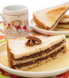 Sándwiches crema avellana