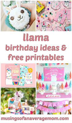 llama party ideas
