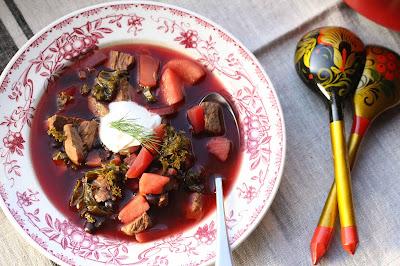 soupe au chou kale frisé