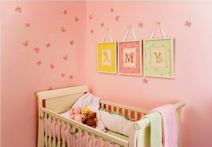 wall ideas for baby room