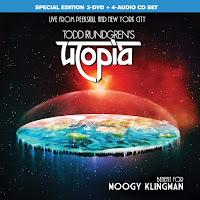 Todd Rundgren's Utopia - Benefit For Moogy Klingman