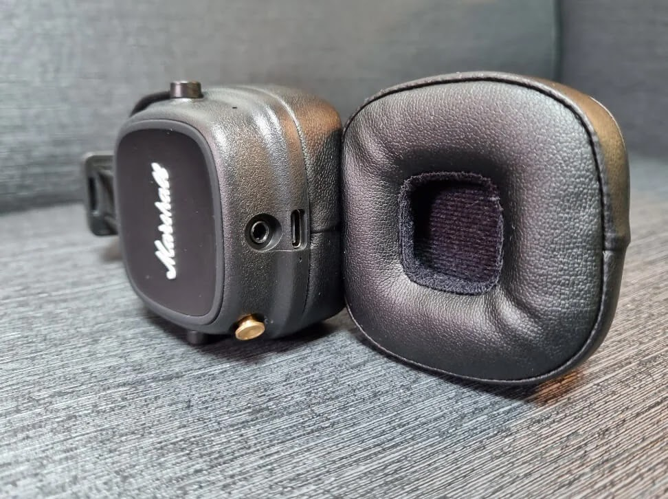 Marshall Major IV Earcups with Soft Cushions