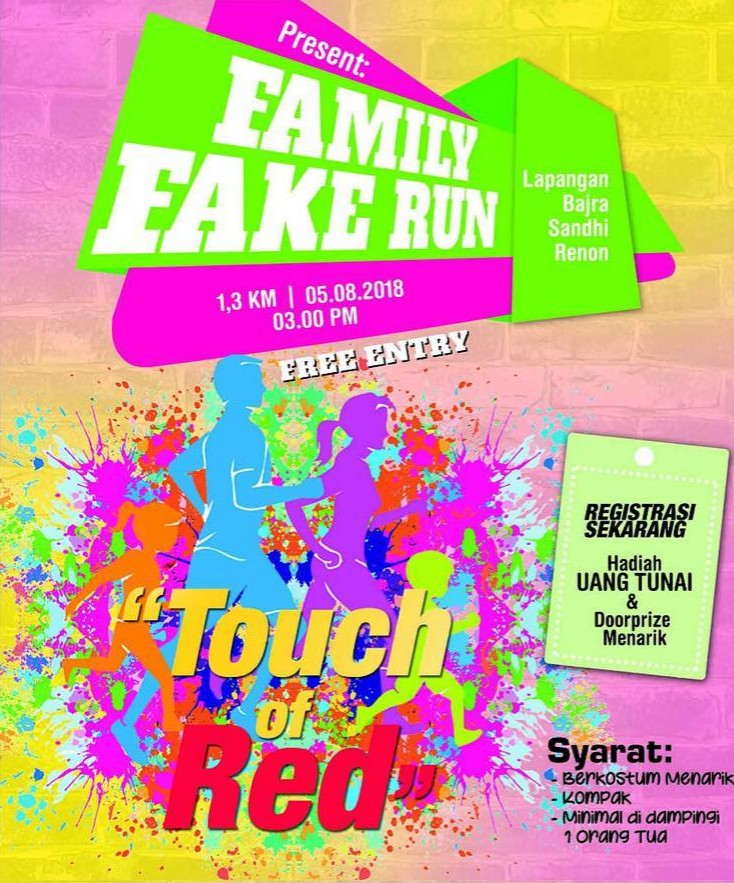 Family Fake Run