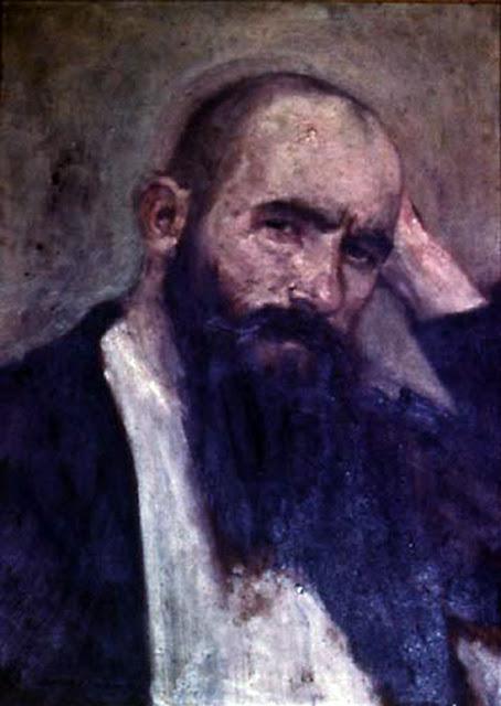 Alexander Mann, Self Portrait, Portraits of Painters, Fine arts, Portraits of painters blog, Paintings of Alexander Mann, Painter Alexander Mann