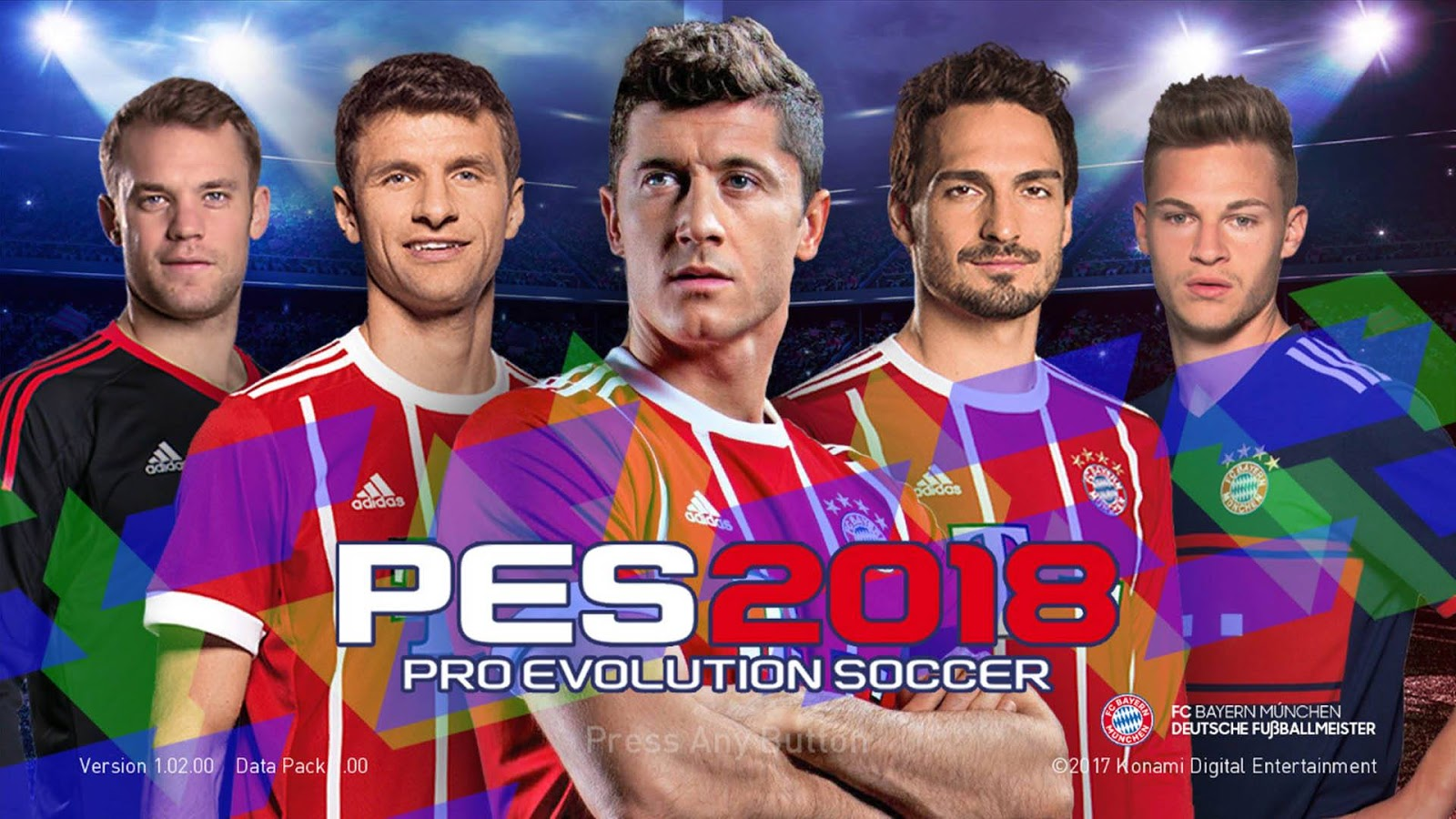 PES 2018 FC Bayern Munchen 17/18 Startscreen by Ega Oi