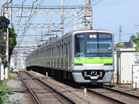 都営車両による「準特急 橋本行き」代走!380F