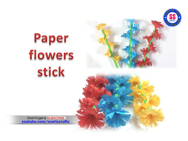Here is paper flowers,paper kids crafts,paper flower vase,how to make kids paper project works,how to make folding paper crafts,paper wall art,paper flowers wind chime,paper flowers for room decor ideas,paper flowers wind chime,paper crafts for home decor ideas,how to make paper flowers stick ssartscrafts youtube channel videos