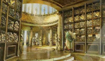 Φώτο: Η Βιβλιοθήκη της Αλεξάνδρειας.