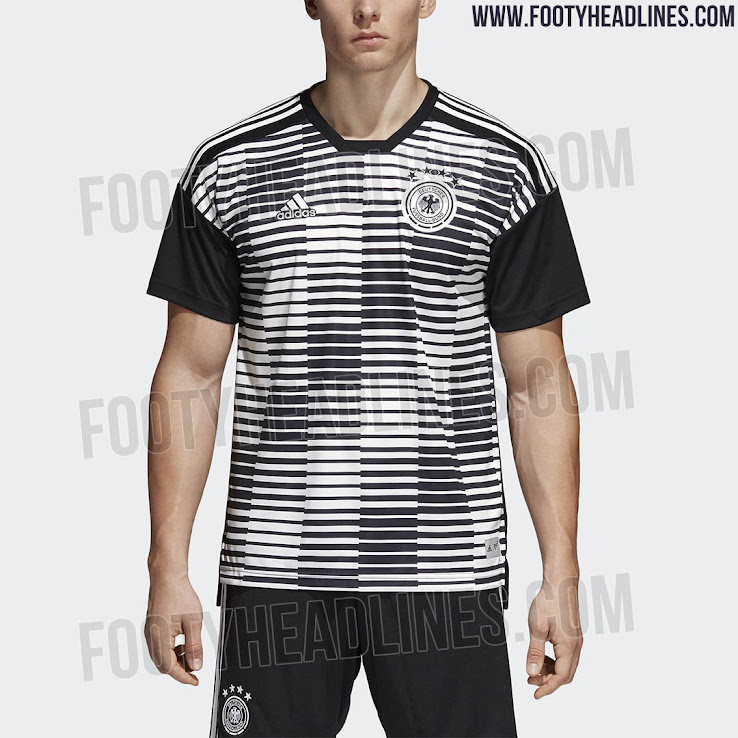 db6715ea7 Adidas Parley Germany 2018 World Cup Pre-Match Jersey Leaked - Footy  Headlines