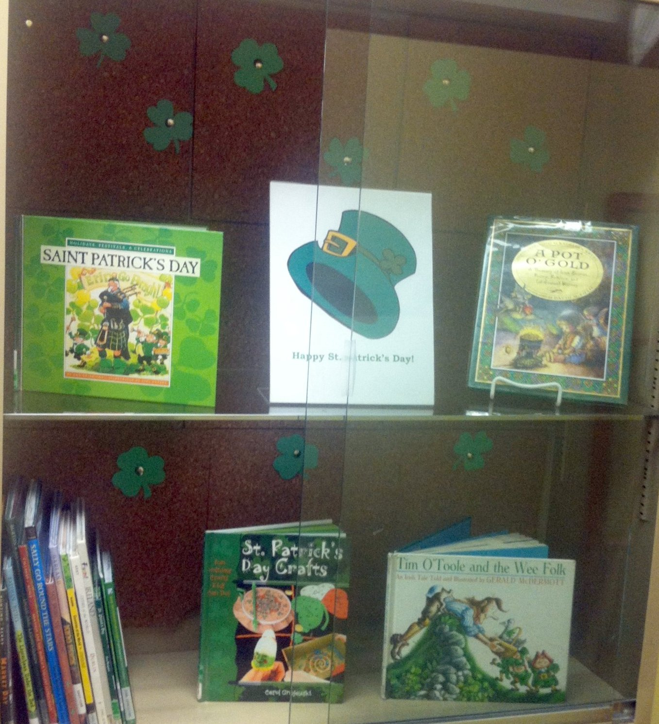 Quick Display St Patricks Day