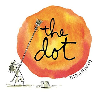 A picture of the cover of the book, The Dot
