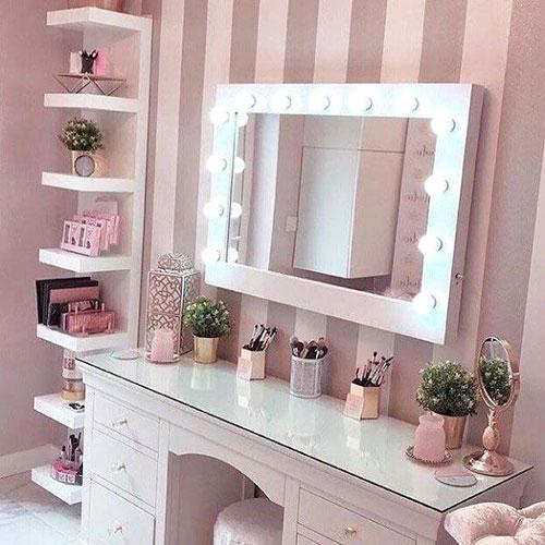 Ventajas de tener un tocador de maquillaje en casa