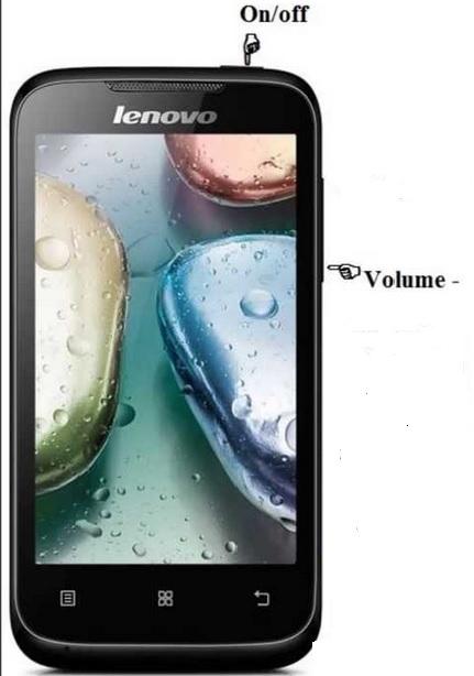 Cara Mengambil Screenshot di Lenovo a396
