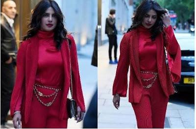 लंदन की सड़कों पर इस अंदाज़ में नज़र आई देसी गर्ल प्रियंका चोपड़ा
