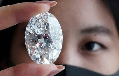 World rarest diamond, size of an egg to be auctioned at $30M {Photos}