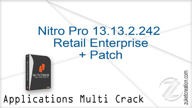 Nitro Pro 13.13.2.242 Retail  Enterprise + Patch