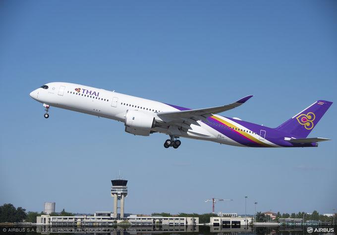 Thai Airways International takes first A350 XWB