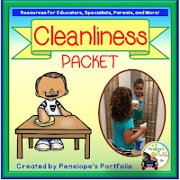 Cleanliness Character Education - Social Skills Teaching Packet