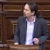 """Pablo Iglesias a Pablo Casado: """"su partido fue fundado por seis ministros de la dictadura"""""""