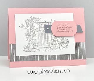 Stampin' Up! Sale-a-Bration 2021 ~ Feels Like Home ~ Friendship Card ~ www.juliedavison.com #stampinup