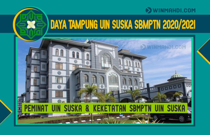 DAYA TAMPUNG SBMPTN UIN SUSKA 2020-2021