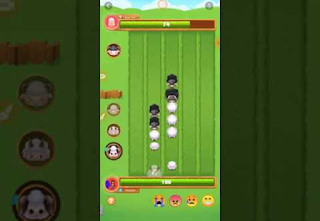 Game of sheep and goats pushing each other / the latest sheep game online / offline