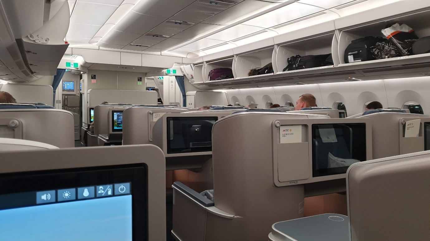 Trip Report Philippine Airlines A350 Manila To London Business Class Review Pr720 Philippine Flight Network