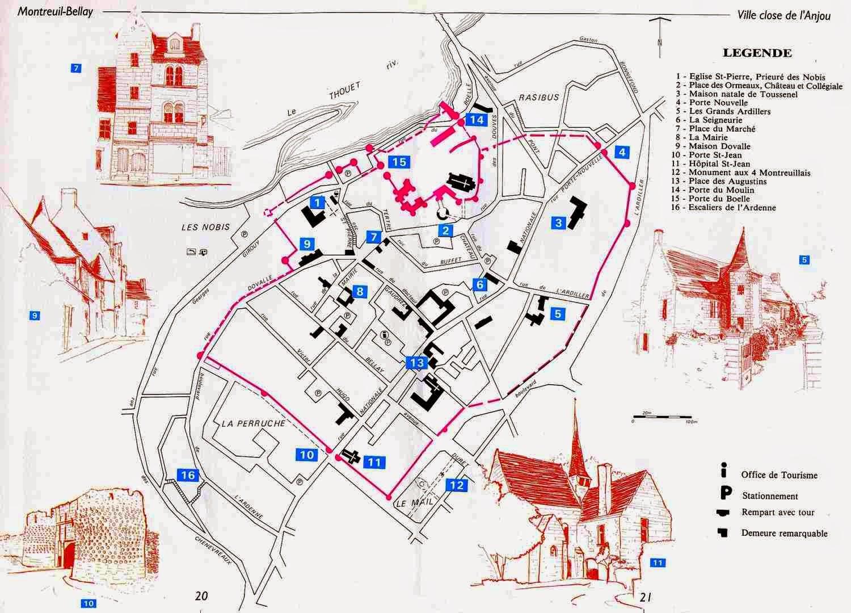 Jacques sigot montreuil bellay une si jolie ville de l 39 anjou - Office de tourisme montreuil ...