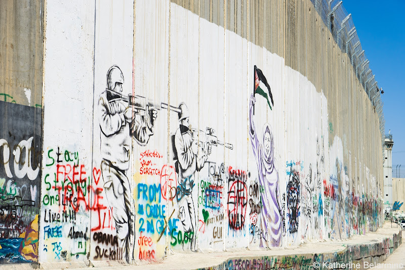 Wall Graffiti Half-Day Tour of Bethlehem Jesus Birthplace