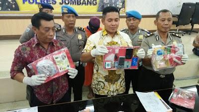 Lagi, Polisi Jombang Ungkap Peredaran Sabu Dari Lapas