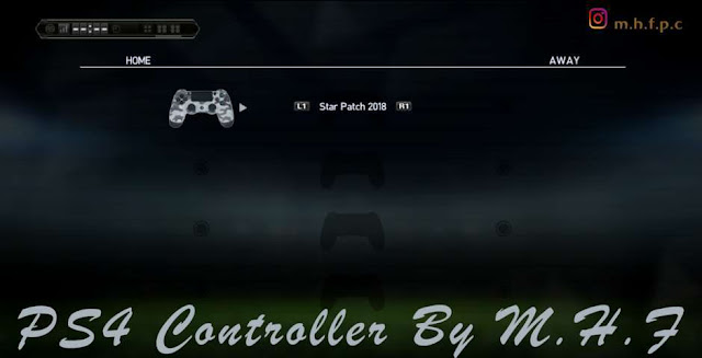 PS4 Camouflage Contoroller PES 2013