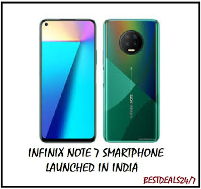 Infinix Note 7 Smartphone Launched in India