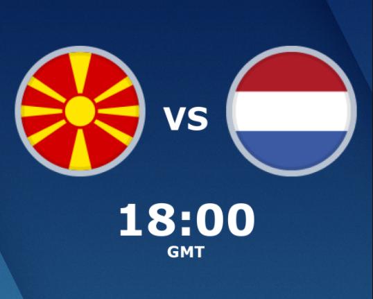 بث مباشر مباراة هولندا ومقدونيا الشمالية