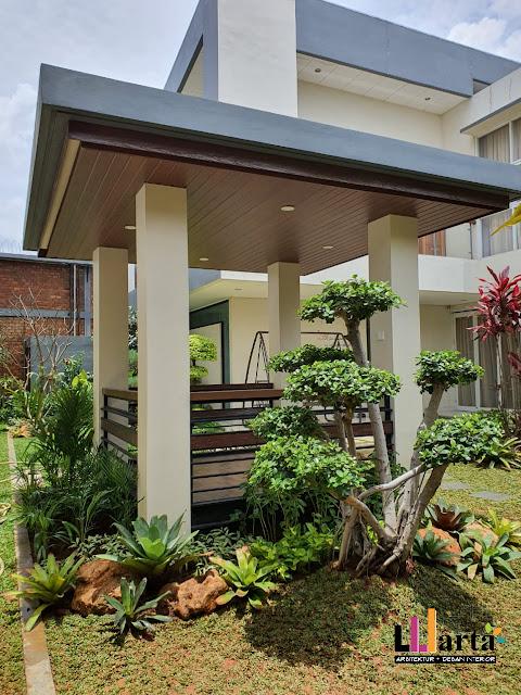 Desain Gazebo Modern Lampung