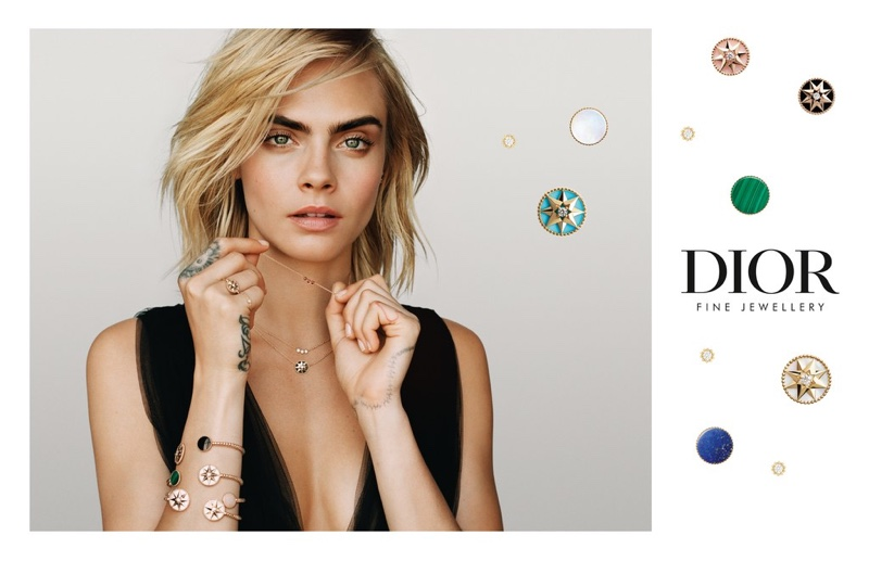 Dior Joaillerie unveils Rose des Vents campaign with Cara Delevingne