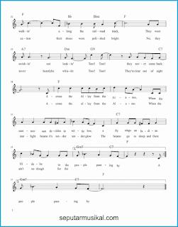 chord across the alley from the alamo 2 lagu jazz standar