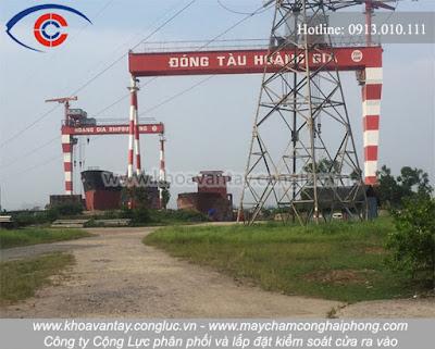 Công ty đóng tàu Hoàng Gia - Kim Thành - Hải Dương.