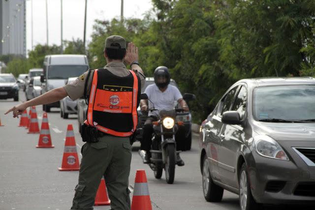 Infrações registradas na Operação Lei Seca caem pela metade em Pernambuco