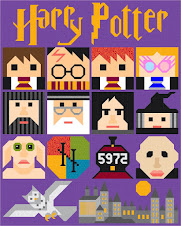 Harry Potter Quilt von Sew Fresh Quilts